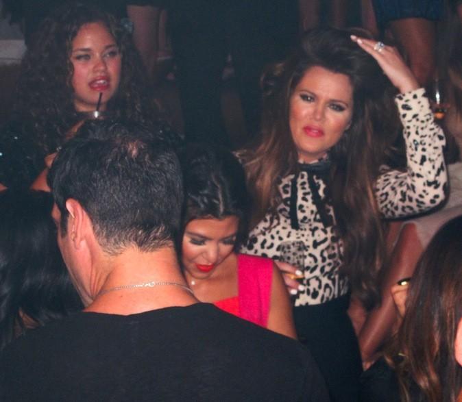 Kaela Humphries, Khloé Kardashian et Kourtney Kardashian
