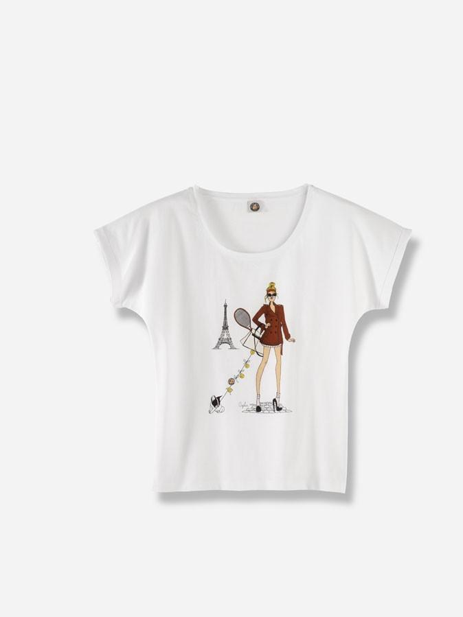Mode : le tee-shirt Angeline Melin pour Roland-Garros