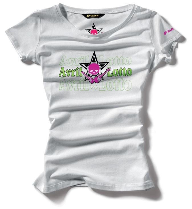 Le modèle le plus sobre de la collection Avril Lavigne x Lotto !