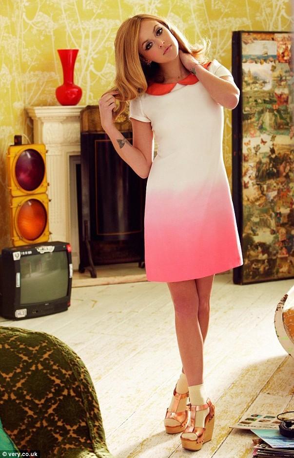Mode : la robe col Claudine de Fearne Cotton pour Very !