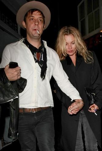 Jamie Hince et Kate Moss