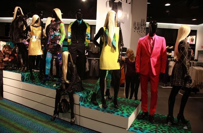 Les modèles dessinés par Donatella Versace pour H&M