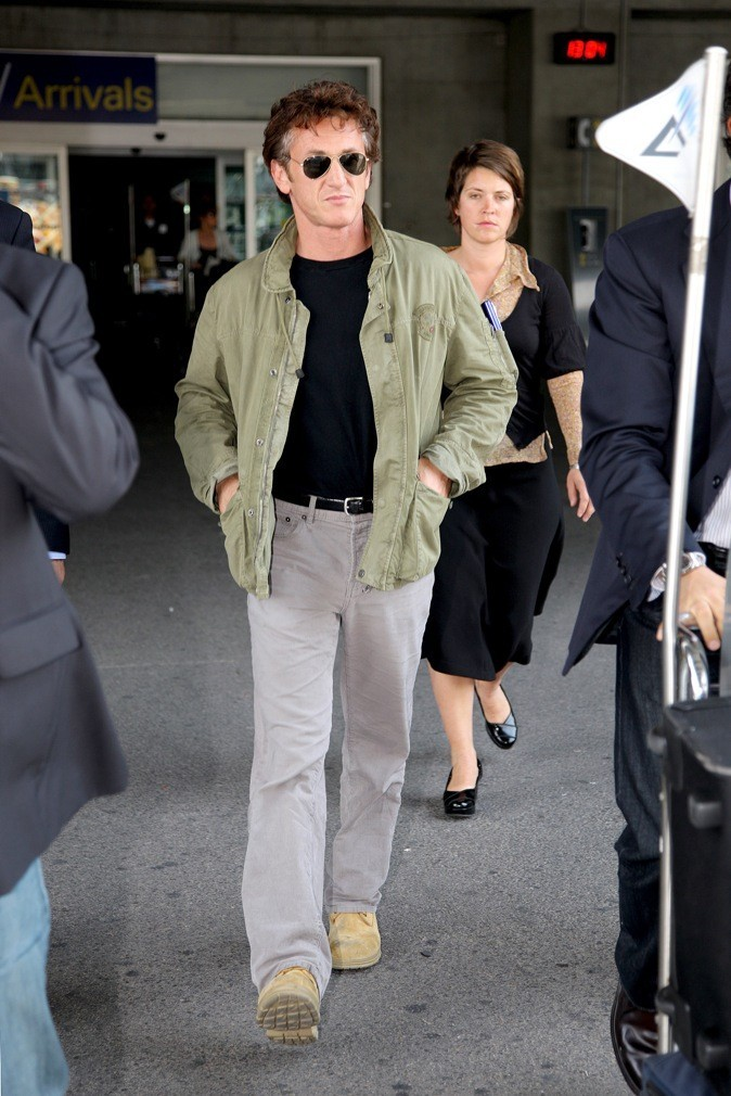 Sean Penn : un look décontracté !