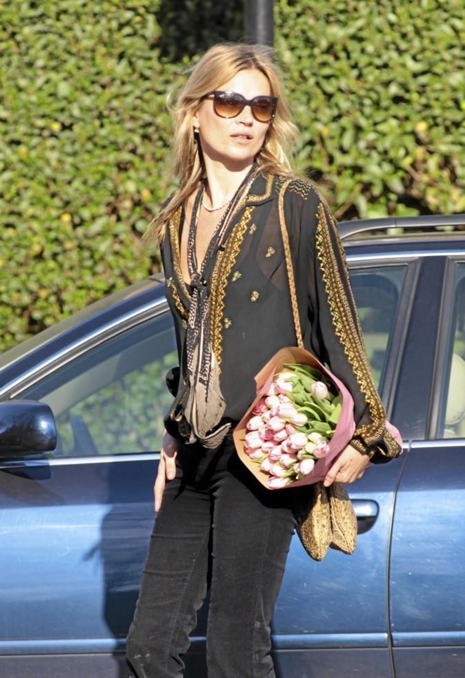 Kate Moss, très green-chic !