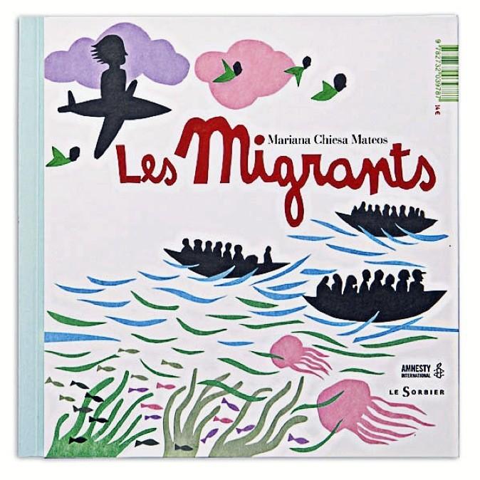 Livre Les Migrants, Éditions du Sorbier 14 €