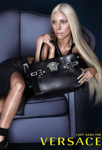 Lady Gaga pour Versace, une deuxième image dévoilée !