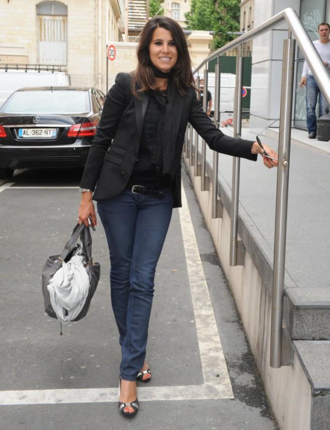 Le CV fashion de Karine Ferri : 14/06/2011