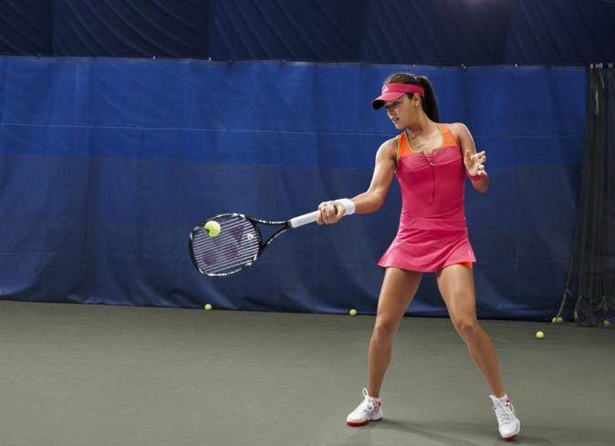 La tendance color block fait son entrée sur les courts de tennis !