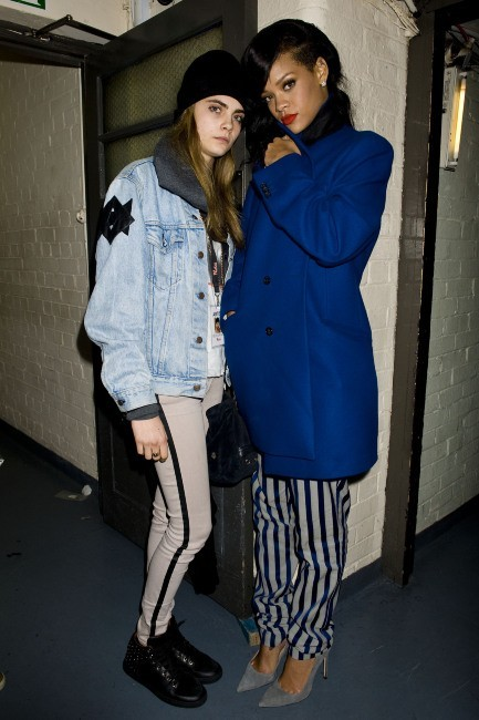 Cara Delevingne et Rihanna à Londres