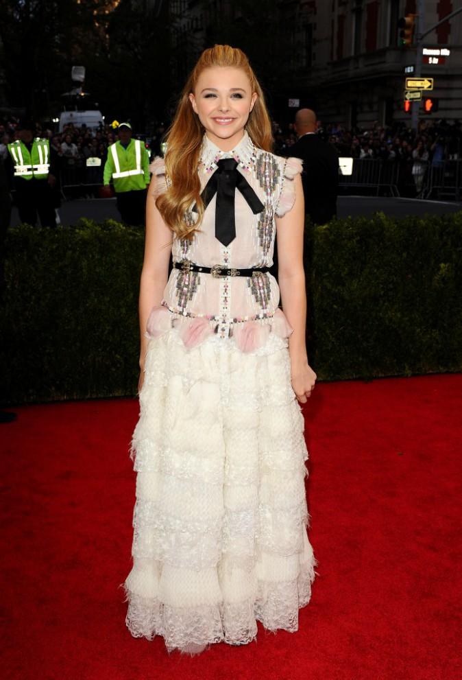 Chloe Moretz en Chanel Couture