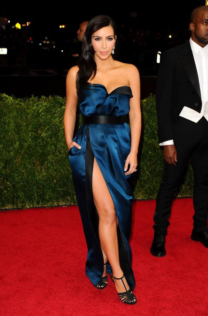Kim Kardashian en Lanvin