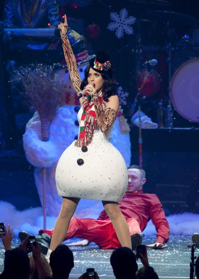 Katy Perry en bonhomme de neige