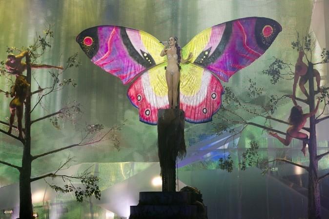 Katy Perry, la chenille est devenue un ravissant papillon
