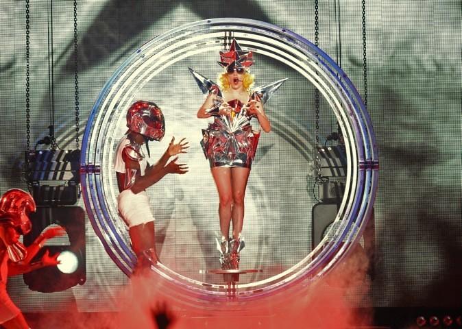 Lady Gaga, la boule à facettes