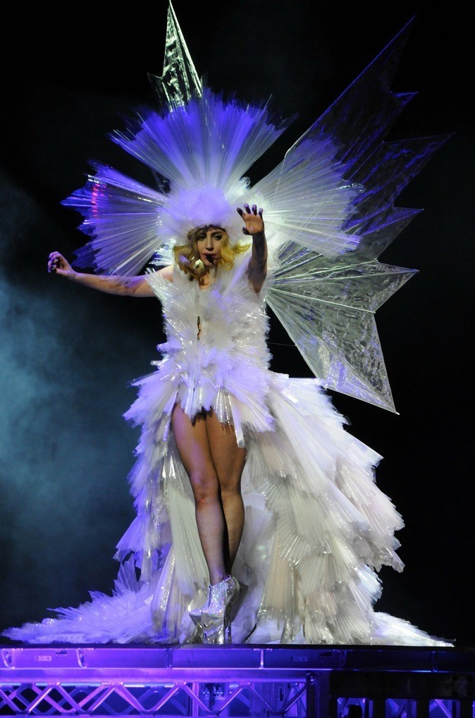 Lady Gaga, la mine de cristaux