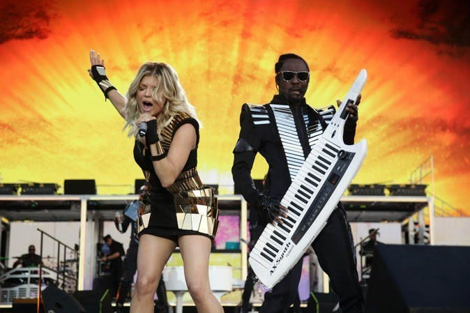 Les Back Eyed Peas ultra disco