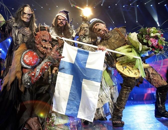 Lordi, ils ont fait peur au jury de l'Eurovision en 2006