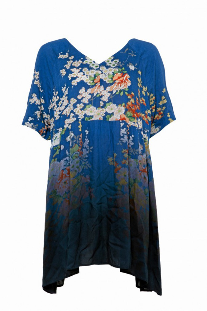 Robe tunique imprimée, Asos, 30€