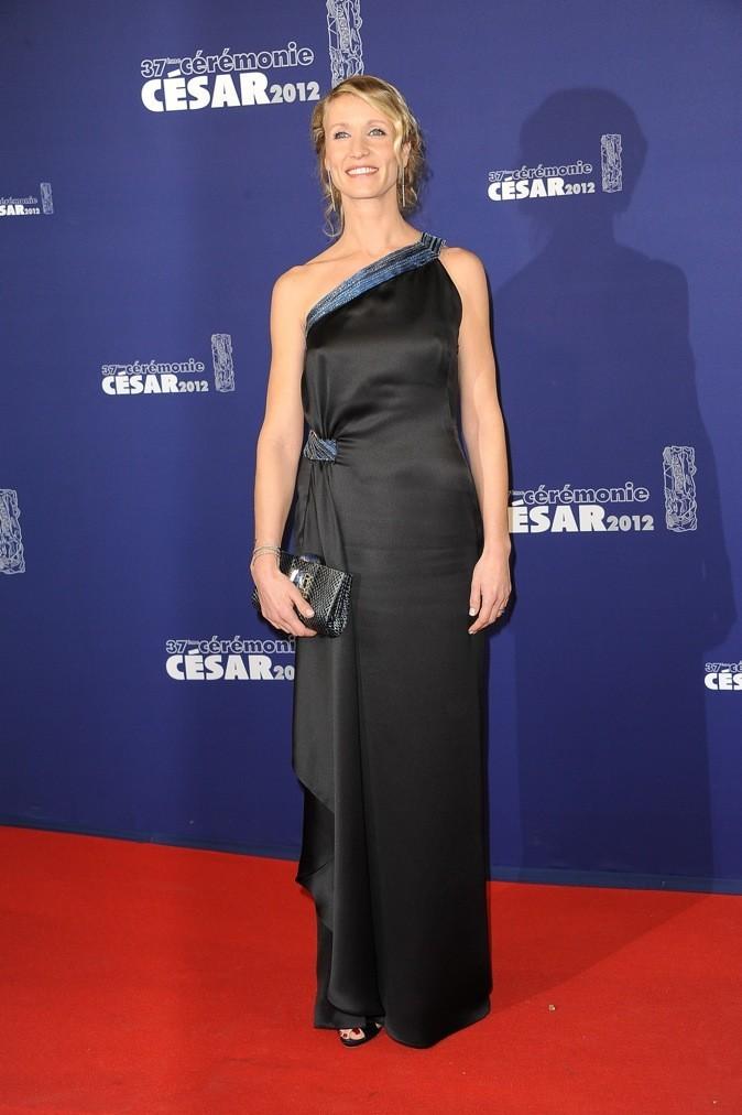 Février 2012 : Alexandra Lamy à la cérémonie des Césars (Paris)