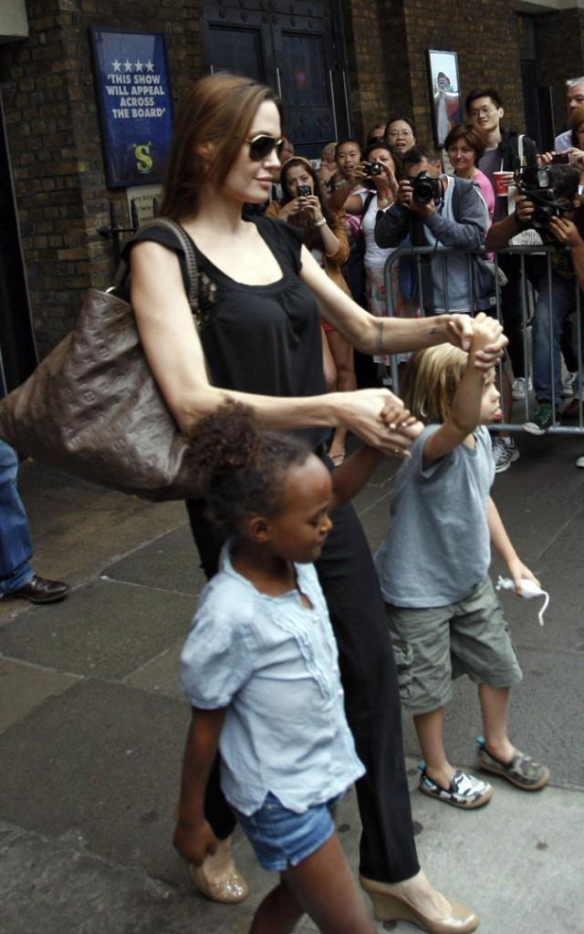 Que ce soit lors d'une sortie en ville avec ses enfants...
