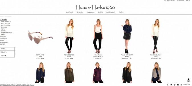 House of Harlow 1960 par Nicole Richie: Ça va plaire... aux bobos !