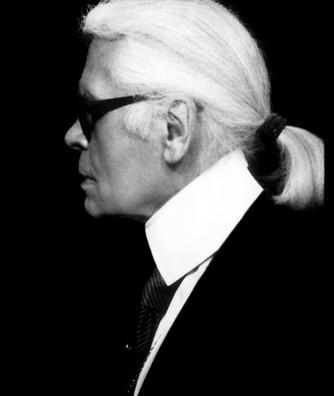 Photomaton de Karl Lagerfeld au dîner de l'amfAR : Le Kaiser himself !