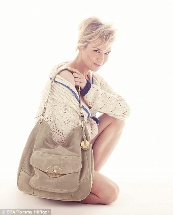 Renée Zellweger pour Tommy Hilfiger : généreuse et lumineuse !