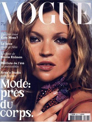 La couverture du Vogue France en Mai 2003 !