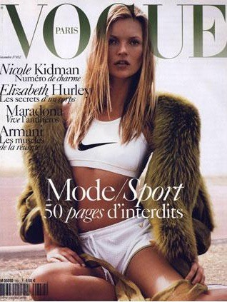 La couverture du Vogue France en Novembre 2004 !