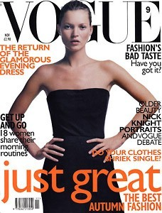 La couverture du Vogue US en Novembre 2002 !