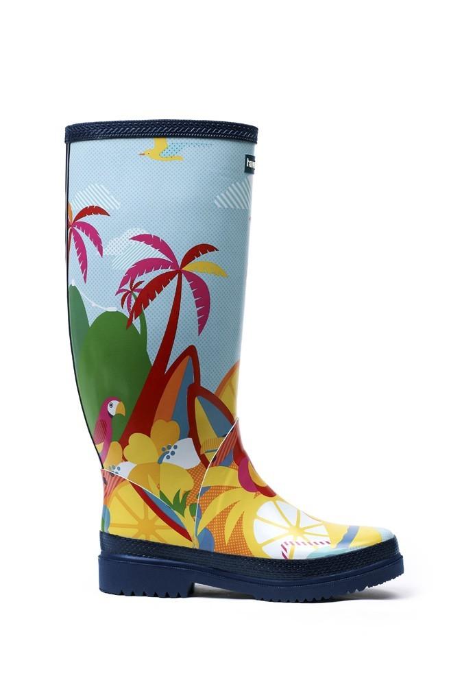 Mode : des rain boots Havaianas imprimé always summer