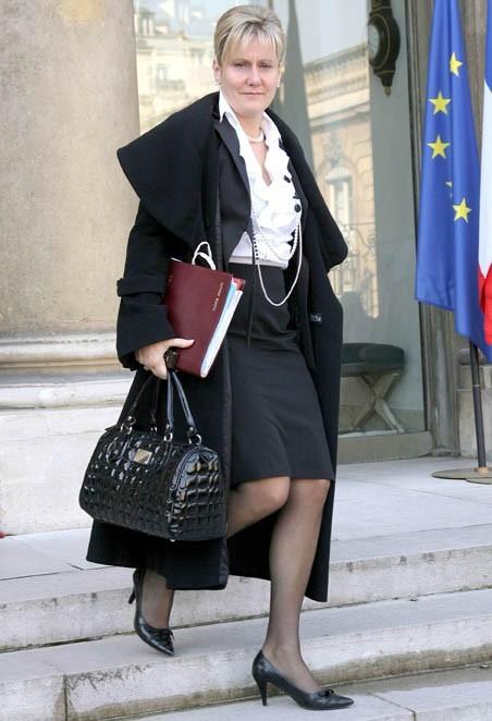 Nadine Morano se la joue élégante...