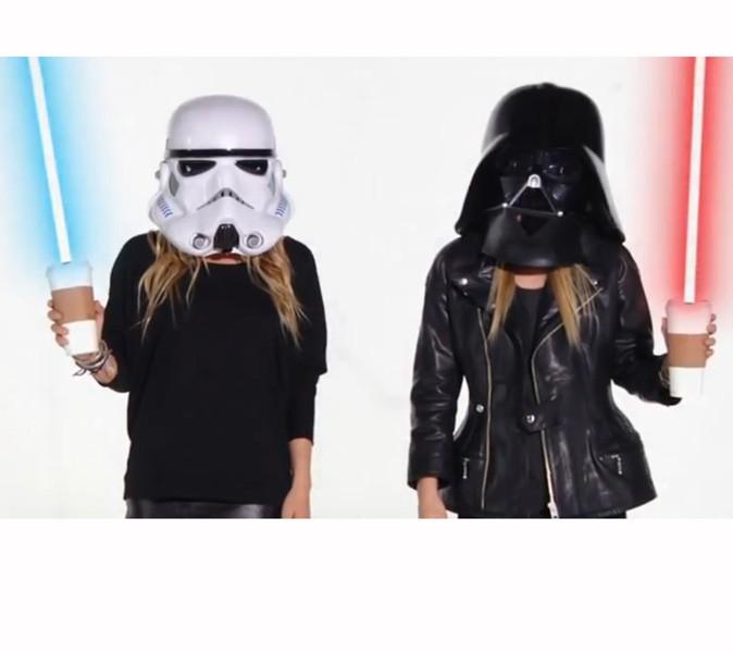Dark Vador et Stormtrooper ont sorti leurs sabres lasers !