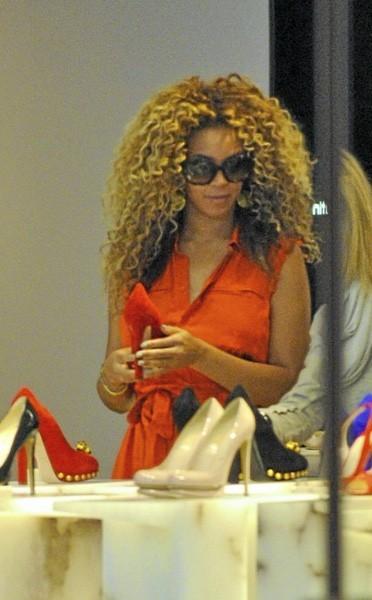 Beyoncé fait son shopping