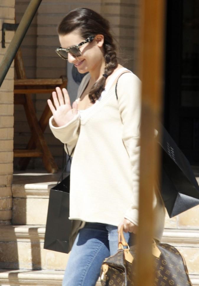 Aviez-vous reconnu Lea Michele de Glee ?