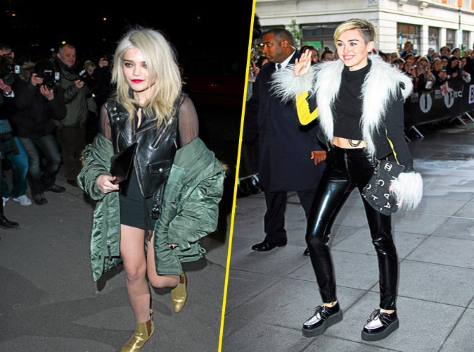 Overdose de grunge: Miley Cyrus et Sky Ferreira