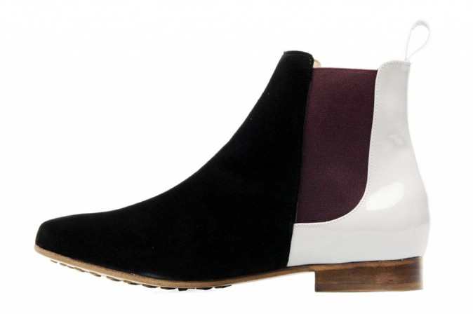 Prescription : on passe aux Chelsea avec les Boots bicolores, Maurice Manufacture, 199 €