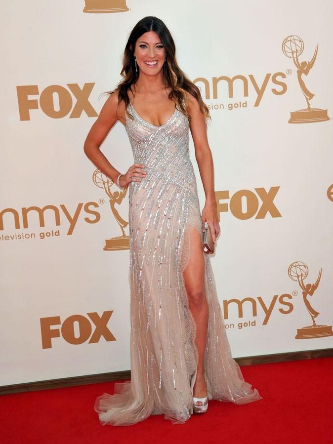 Tout ce qui brille : la robe drapée et fendue de Jennifer Carpenter (Dexter) !