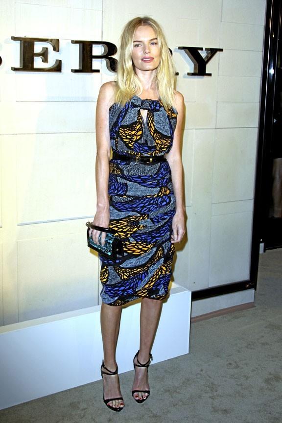 Kate Bosworth et l'imprimé boubou