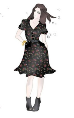 "Une petite robe noire ""Lucy in Disguise"" !"