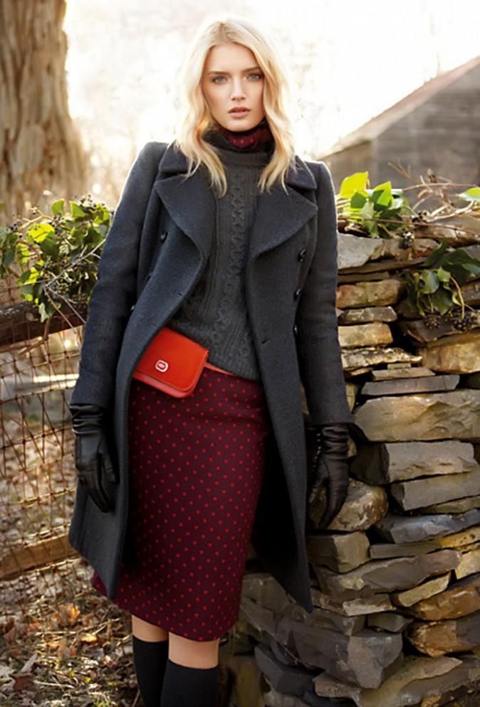 Lily Donaldson : le mannequin british égérie Max Mara pour l'automne hiver 2013 !