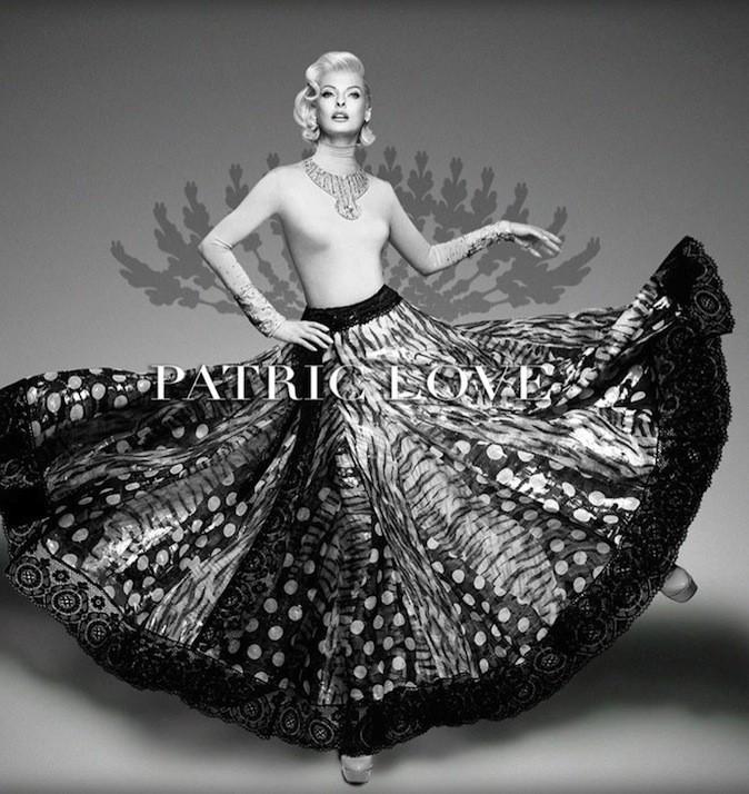 Linda Evangelista blonde platine façon Marilyn Monroe pour la campagne printemps 2014 de Patric Love !