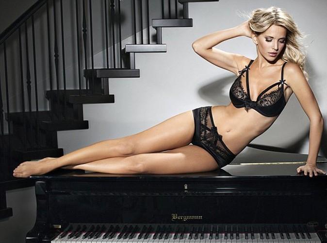 Luisiana Lopilato pose en lingerie !