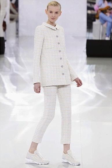 Nastya Sten pour le défilé Chanel
