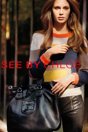 La nouvelle campagne See by Chloé avec Marine Vacth