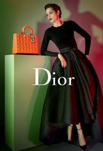 Mode : Marion Cotillard pour Lady Dior version 2013 !