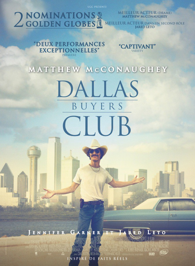 Matthew McConaughey dans Dallas Buyers Club !
