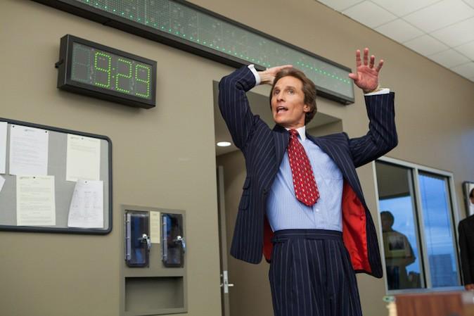 Matthew McConaughey dans Le loup de Wall Street !