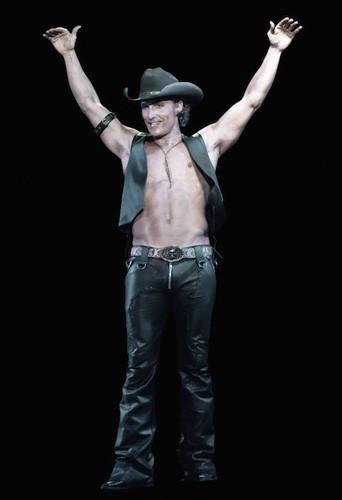 Matthew McConaughey dans Magic Mike !