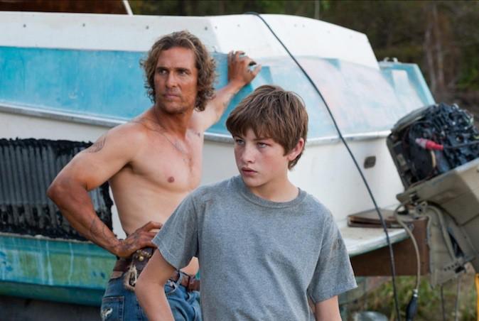 Matthew McConaughey dans Mud !